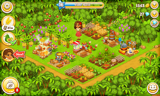 Farm Paradise - Fun farm trade game at lost island apktram screenshots 8
