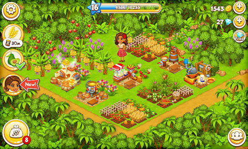Farm Paradise MOD APK 2.26 (Unlimited Money) 8
