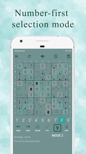 Ninja Sudoku - Classic & Killer Sudoku logic hint Apkfinish screenshots 5