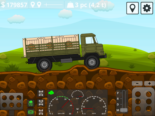 Mini Trucker - 2D offroad truck simulator modavailable screenshots 15