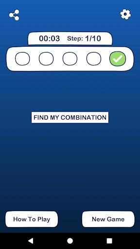 find my combination screenshot 2