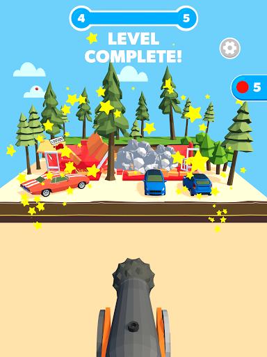 Slingshot Smash: Shooting Range android2mod screenshots 11