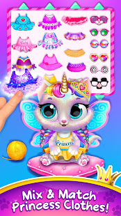 Twinkle - Unicorn Cat Princess  screenshots 2