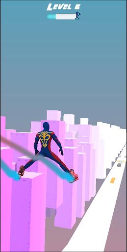 SuperHeroes Skates: Sky Roller apkpoly screenshots 6