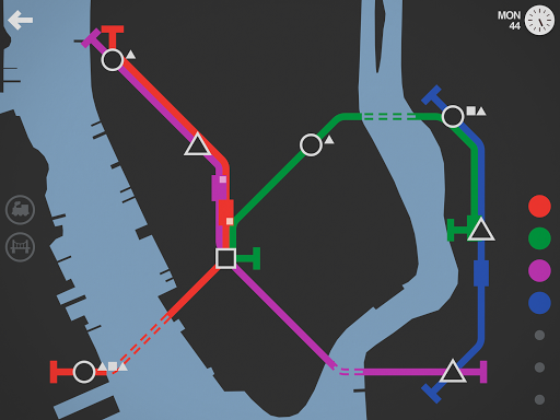 Mini Metro Varies with device screenshots 11