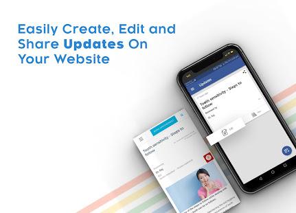 Instant Website Builder: Websites.co.in App