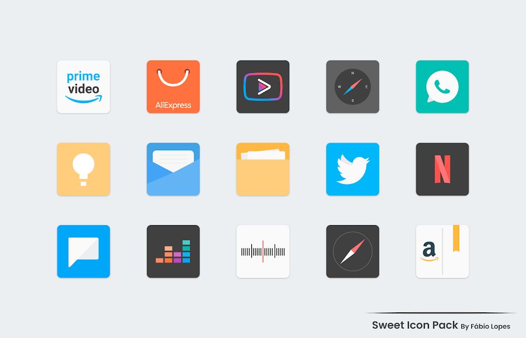 Sweet - Icon Pack  poster 2