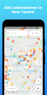 Chargemap - Aufladestationen Screenshot