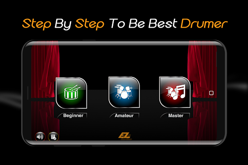 Easy Real Drums-Real Rock and jazz Drum music game 1.3.5 Screenshots 1