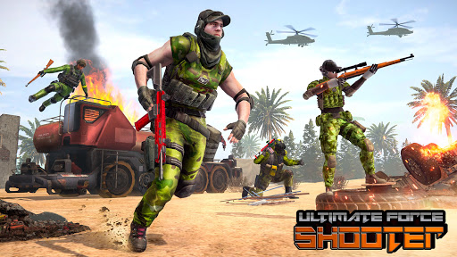 Counter Terrorist Gun Strike: Free Shooting Games 2.4 screenshots 10
