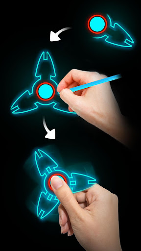 Draw Finger Spinner 1.1.5 screenshots 2