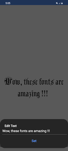Text Fonts - outline fonts - write calligraphy  Screenshots 3