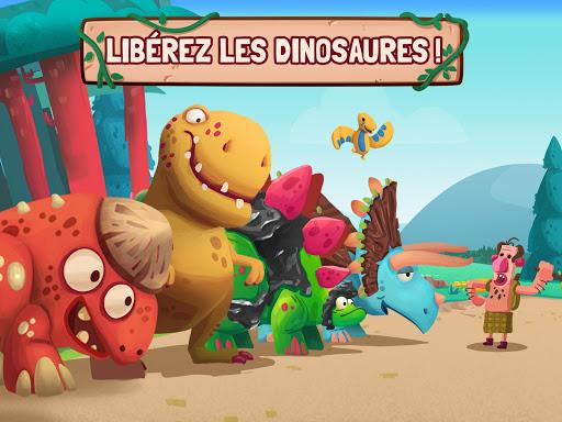 Dino Bash - Dinosaure tower defense TD APK MOD (Astuce) screenshots 2