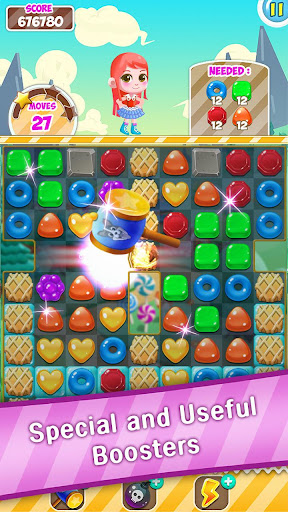 Candy Sweet Pop  : Cake Swap Match apkdebit screenshots 7