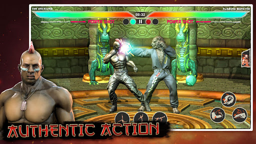 Kung Fu Madness Street Battle Attack Fighting Game apkpoly screenshots 4