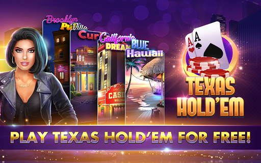 POKER, SLOTS - Huge Jackpot - Texas Holdem Poker  screenshots 17