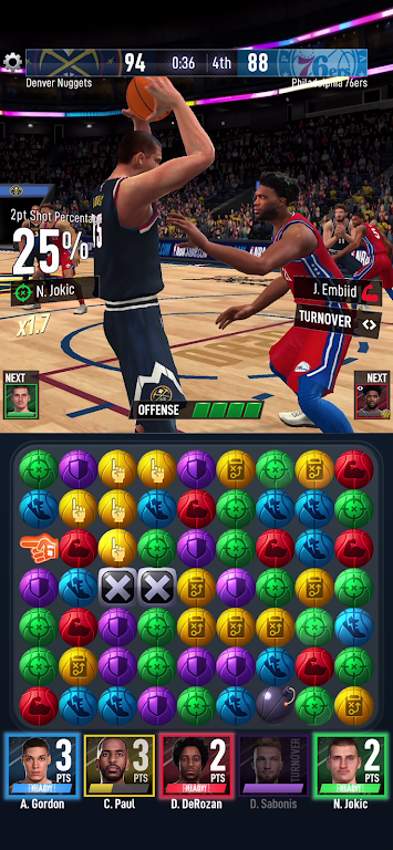 NBA Ball Stars: Play with your Favorite NBA Stars poster 5