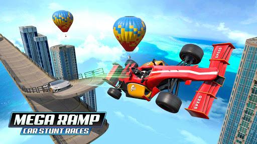 Mega Ramp Car Stunt Races - Stunt Car Games 2020 modavailable screenshots 9