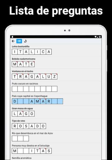 Crucigrama u2014 Autodefinido apkdebit screenshots 13