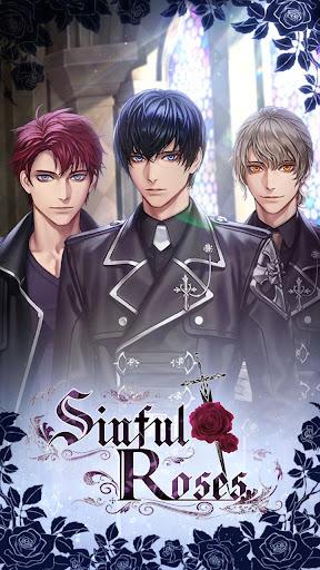 sinful roses : romance otome game screenshot 1