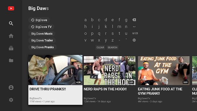 تحميل تطبيق يوتيوب لأجهزة تلفاز