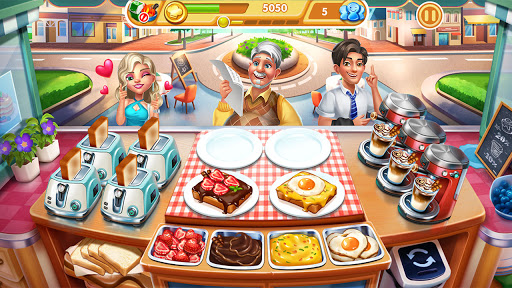 Cooking City: frenzy chef restaurant cooking games  screenshots 7