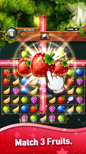 Sweet Fruits POP : Match 3 Puzzle screenshots 1