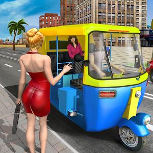 Modern Tuk Tuk Auto Rickshaw  Free Driving Games