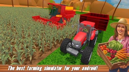 Free US farming Games New Tractor Driving Games 2021 5