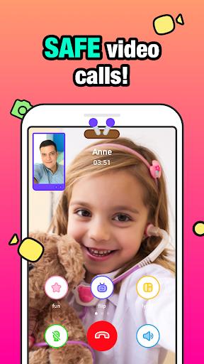 JusTalk Kids - Safe Video Chat and Messenger apktram screenshots 1