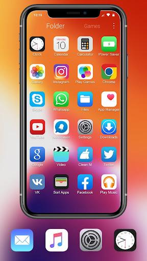 iLauncher Phone 11 Max Pro OS 13 Theme Wallpaper 1.1.1 Screenshots 3