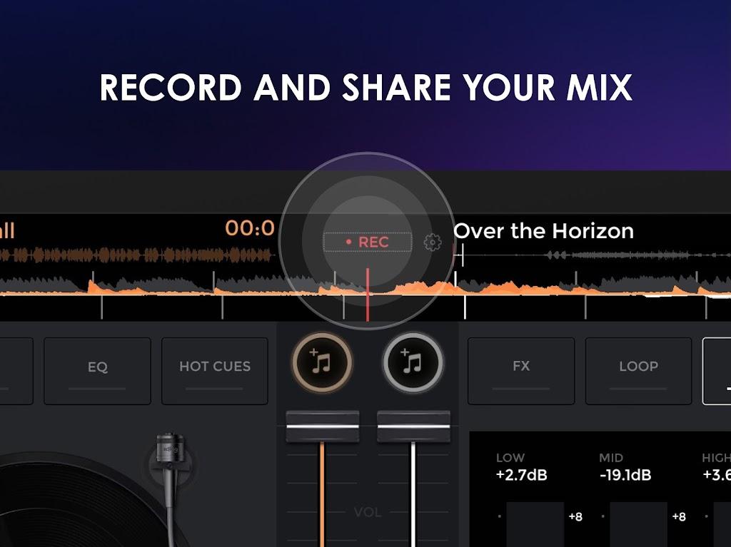 edjing Mix - Free Music DJ app  poster 14