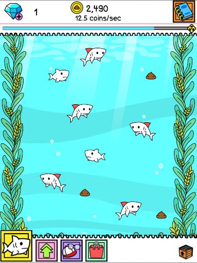 Shark Evolution - Fierce Shark Making Clicker screenshots 10