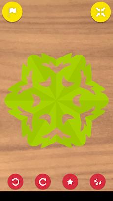 折り紙ちょきちょき みんな遊べる切り紙アプリのおすすめ画像4