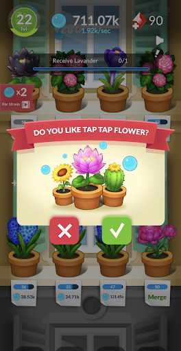 FlowerBox: Idle flower garden  screenshots 4