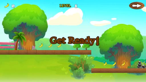 jungle monkey banana adventure screenshot 2
