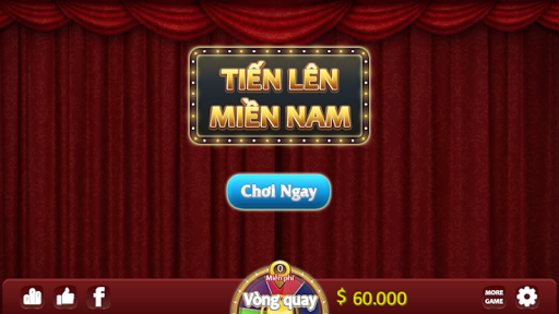Tiu1ebfn Lu00ean Miu1ec1n Nam - u0110u00e1nh Bu00e0i - Tien Len Mien Nam 1.1.4 screenshots 1