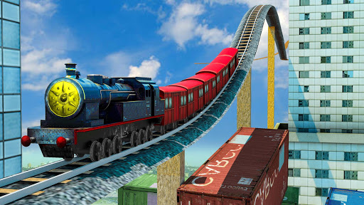 Impossible Euro Train Simulator Free 1.5 Screenshots 1