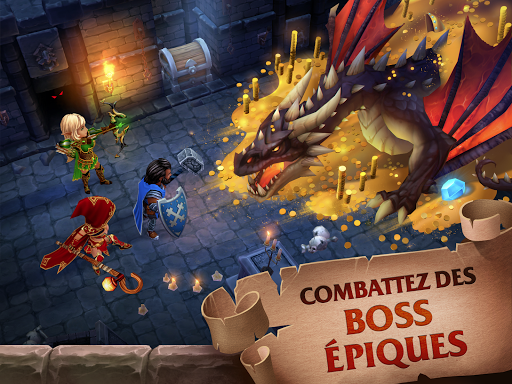 Code Triche Forge of Glory: Match3 MMORPG & Action Puzzle Game APK Mod screenshots 1