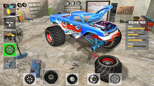 Monster Truck Stunts: Offroad Racing Games 2020 0.8 screenshots 5