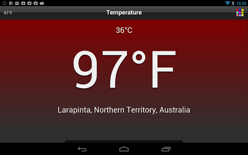 Temperature  screenshots 12