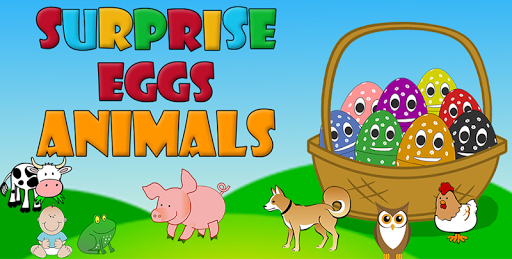 Surprise Eggs - Animals : Game for Baby / Kids 10.1.118888 screenshots 1