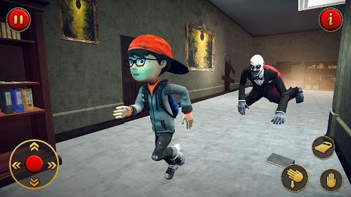 Scary Teacher 2021 - Adventure School Game apkpoly screenshots 1