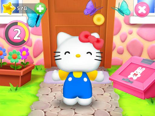 Talking Hello Kitty - Virtual pet game for kids  screenshots 6