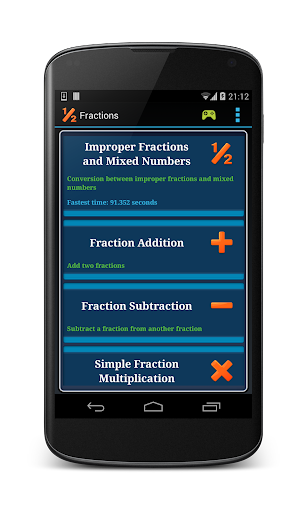 Math Fraction Practice ss3