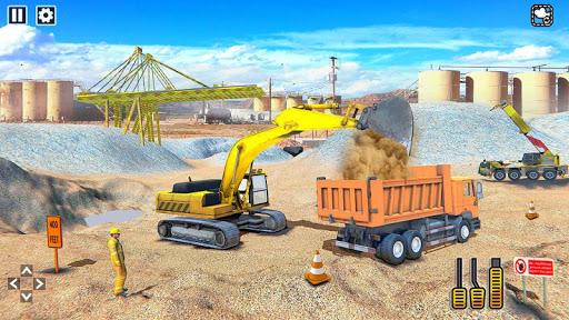 Heavy Construction Mega Road Builder apktram screenshots 2