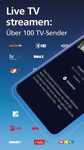 o2 TV powered by waipu.tv u2013 Live TV Streaming screenshots 1