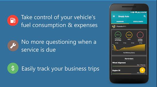 Simply Auto Platinum v41.3 MOD APK – Car Maintenance & Mileage tracker app 1