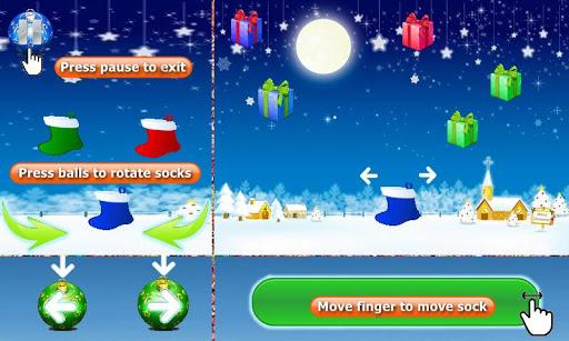 christmas socks - new year christmas game screenshot 2