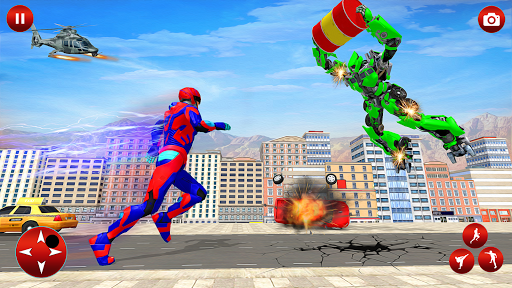 Superhero Robot Speed: Super Hero Game screenshots 4